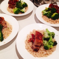 FIVE SPICE PORK BELLY WITH CARAMELISED CHILLI SAUCE