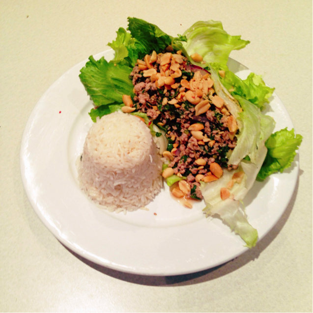thai larb salad