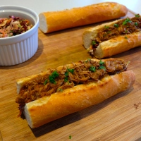Pulled Pork Baguettes