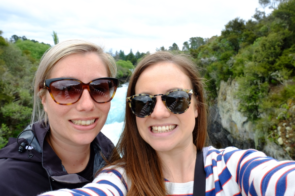 Selfy at Huka falls