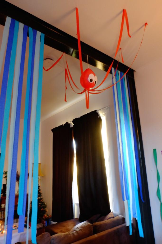 Balloon octupus