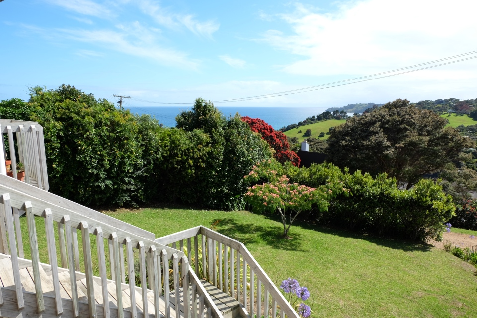 View from our balcony, Waiheke