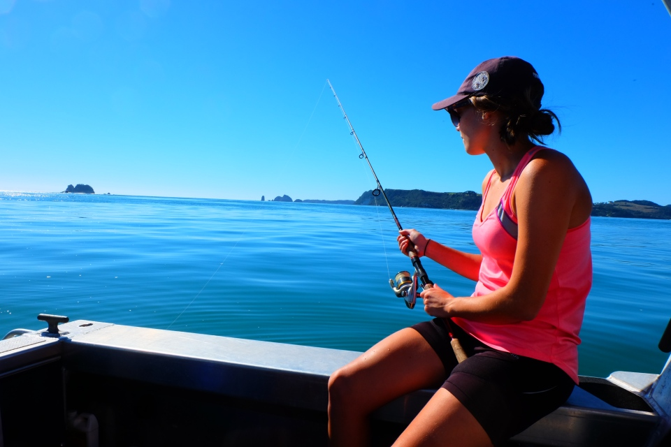 Fishing in Whitianga