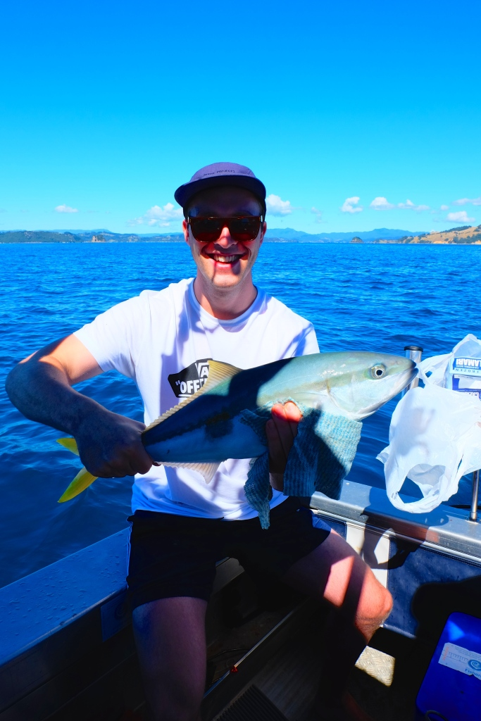 Hamish with his Kingfish